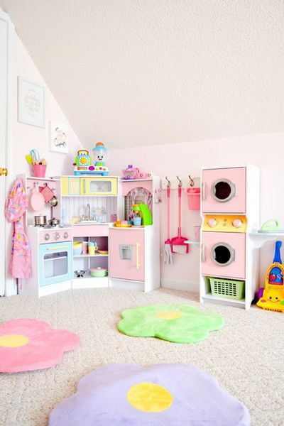 Kid-Sized Studio Apartment | Toy rooms, Toddler rooms, Girl ro