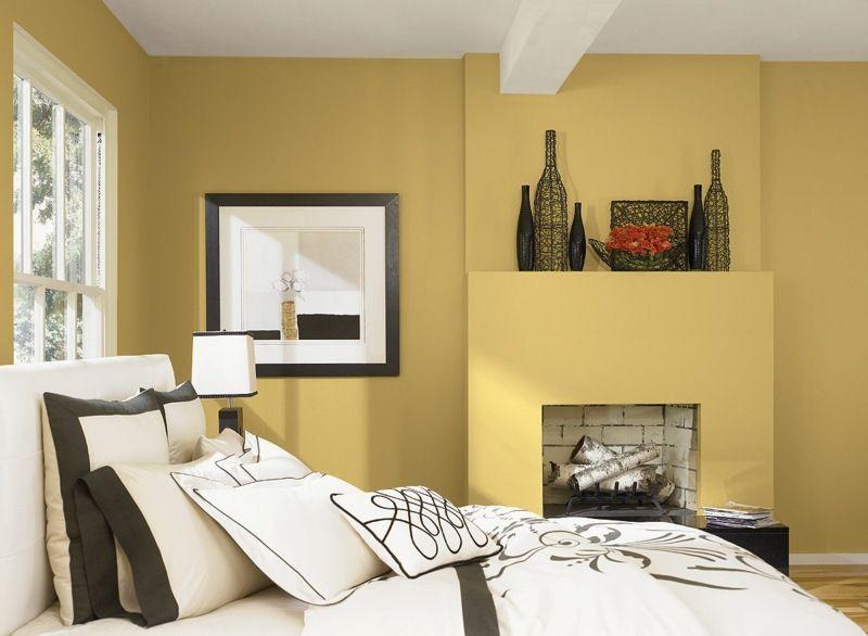 Die besten Farben für Schlafzimmer – 19 Ideen | Wandfarbe .