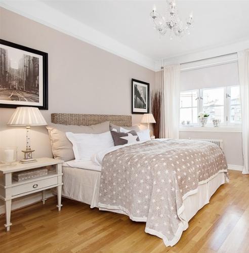 Beige bedroom, love the wall colour. | Schlafzimmer, Beige wände .