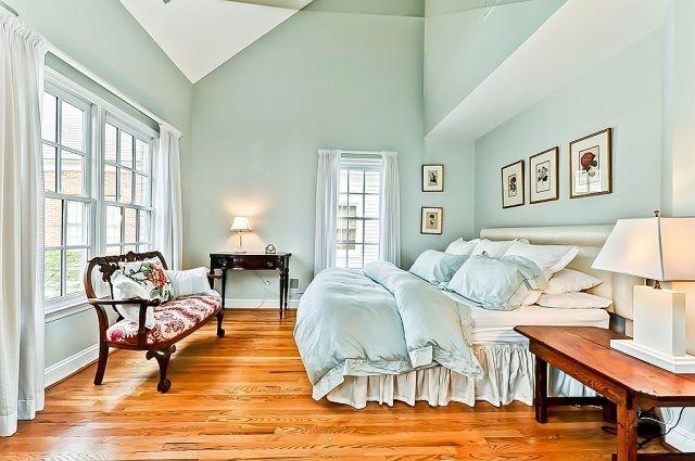 Wandfarbe im Schlafzimmer – 105 Ideen für erholsame Nächte .