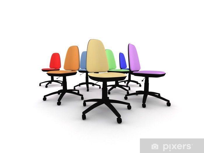 Warum lieber farbige Bürostühle am Arbeitsplatz kaufen? | Stühle .