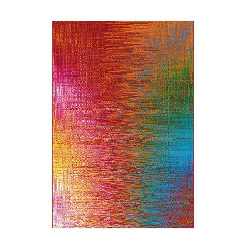 Brayden Studio Flachgewebe-Teppich Mehl in Orange/Rot/Blau in 2020 .