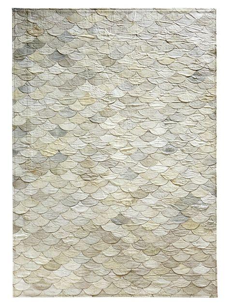 Leder-Teppich für 219,90€. Handgepatcht, Flache Ausführung, Echtes .