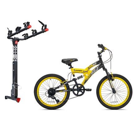 Kent Bikes Avigo Air Flex Steel 20 Inch Boys BMX Bike & 3 Bike Car .