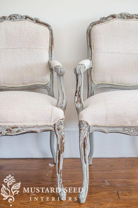 Pin von Marie auf painted/upgraded furniture | Französische stühle .