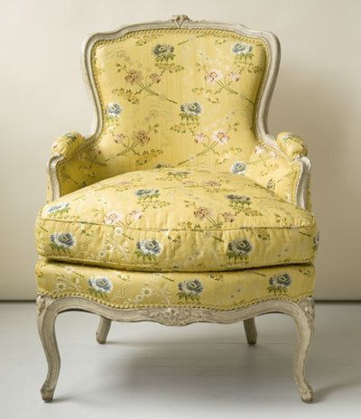 Decorating with Bergere Chairs | Polsterstuhl, Antike stühle und .