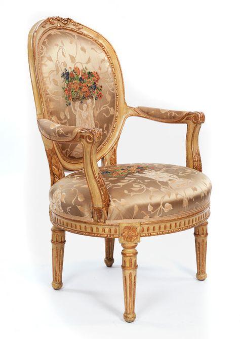 Französischer Louis XVI-Sessel   Armchair, Single sofa, Furnitu