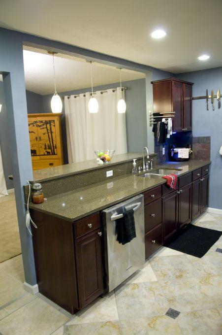 Galeere-Küche gestaltet um   Küche umgestalten ich hatte eine .