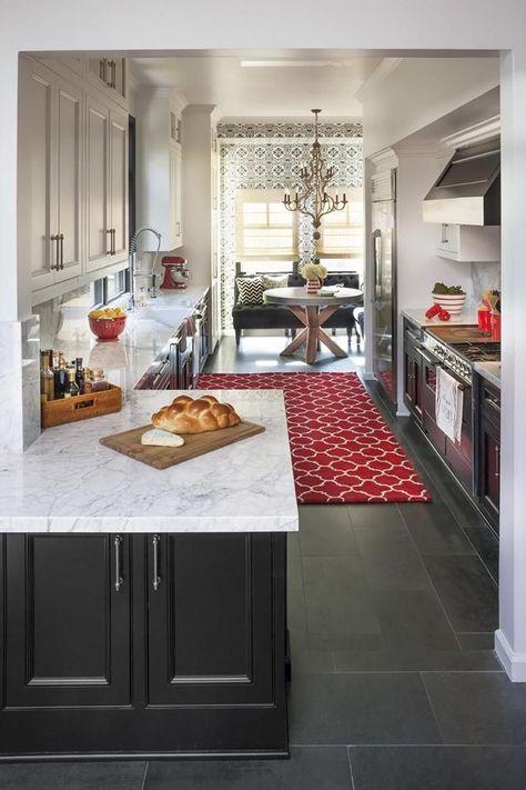 Galeere Küche umgestalten
