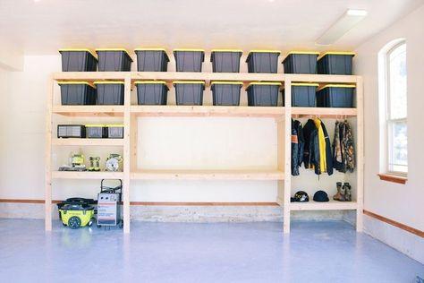 Entspannende Ideen für Garagenlager 30 | Décoration garage .
