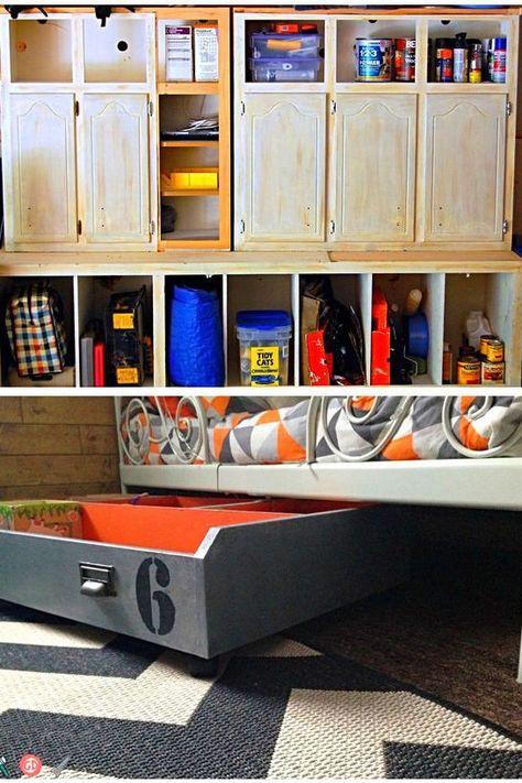 Garagenlagerideen für Bälle. Ideen für Garagenlager bei Lowes .
