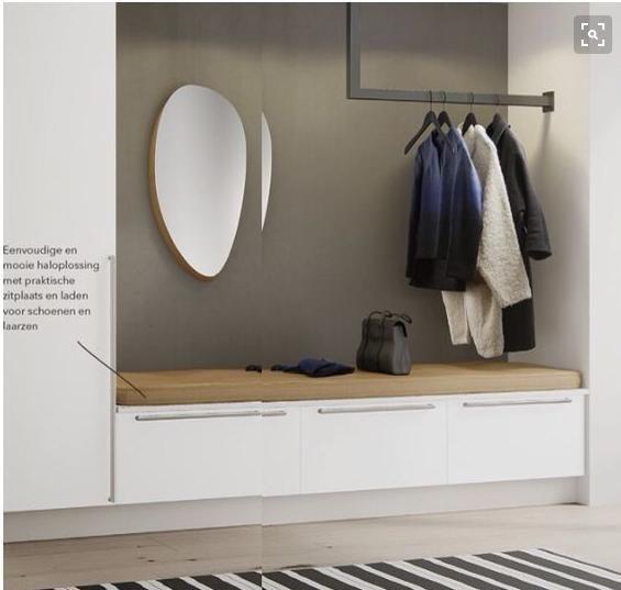 Garderobe Ideen | Living room decor, Small hallways, Room dec