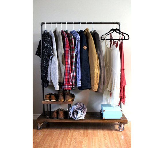 Kleiderständer mit Ständer, Kleiderständer, Kleiderständer .