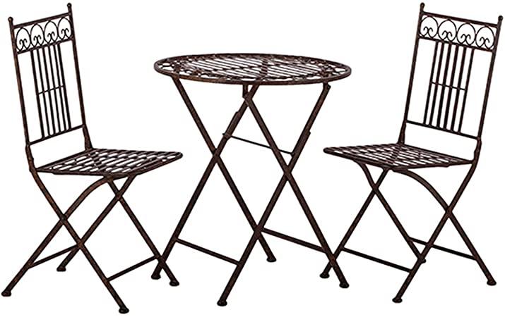 Amazon.de: Tisch + 2 Stühle *Paris* Garnitur Gartenmöbel .