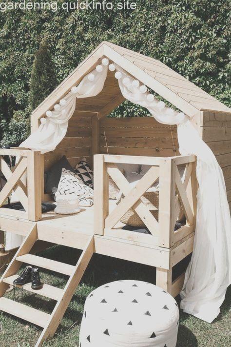 Luxuriöses Spielhaus, Strandbungalow, Spielhaus im Freien .