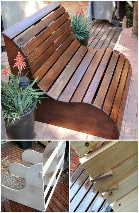 54 DIY Gartenmöbel Ideen, um Ihr Zuhause im Freien an diesem .