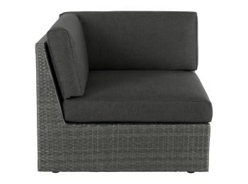 MADE Sofa, Grau   Gartensofa, Polyrattan und Gartensess