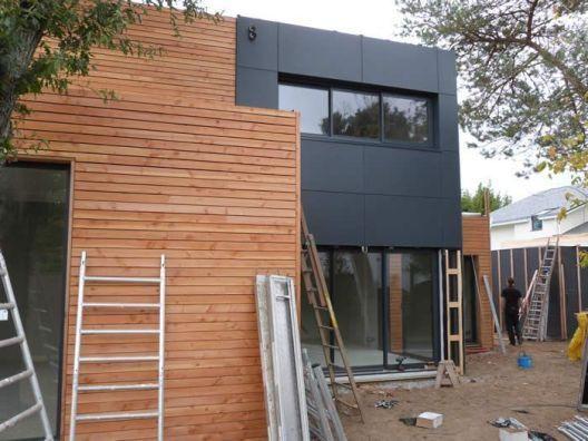 Erstaunliche Ideen für Holzverkleidungen, um Ihr Gebäudedesign .