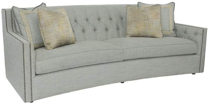 Bernhardt Candace Sofa | Bernhardt furniture, Curved sofa, Sofa .
