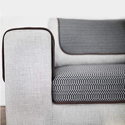 HOTNIU Wasserdichtes Stretch Sofa Schonbezug - 1-Piece Dehnbarer .