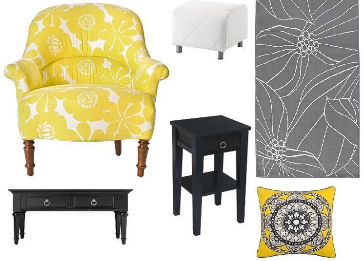 Gelb Gemusterte Stuhl Designs #Stühle | Stuhl design, Sessel .