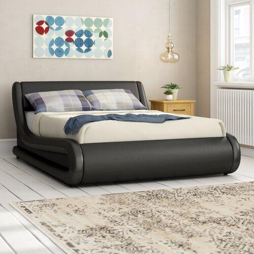 Zipcode Design Kyara gepolstertes osmanisches Bett in 2020 | Bett .
