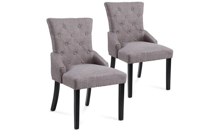 2 gepolsterte Esszimmerstühle   Group
