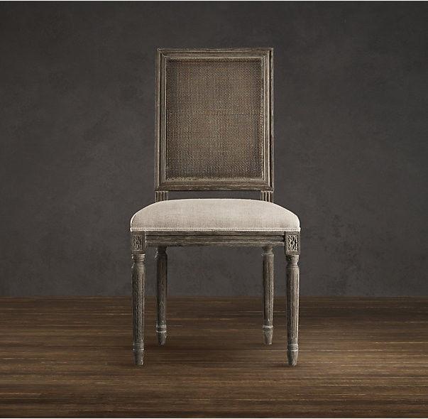 Zeitgenössische moderne gepolsterte Esszimmerstühle mit brauner .