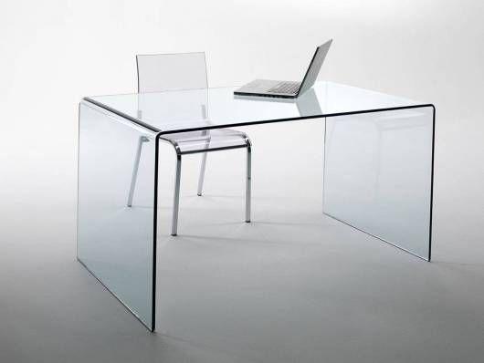 CHANDRA Schreibtisch Glas   Schreibtisch glas, Glasschreibtisch .