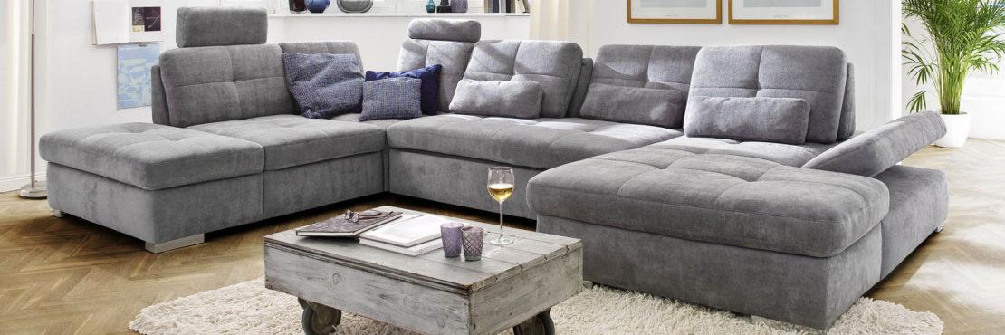Graue Sofas sind beliebt – und dafür gibt es gute Gründe - wohnparc.