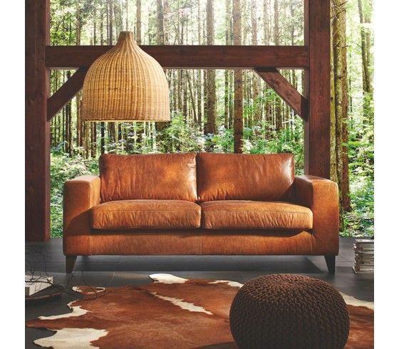 Sofa leder braun-Bild von anna lena auf wg zimmer   Braunes .