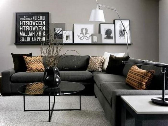 wohnzimmer grau weiss modern galerie on braun auch wohnzimmer grau .