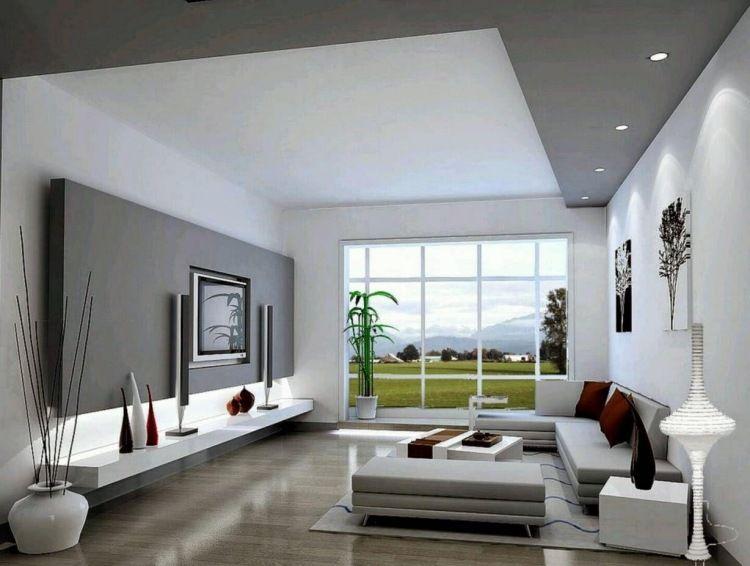 Graue Wohnzimmer Ideen