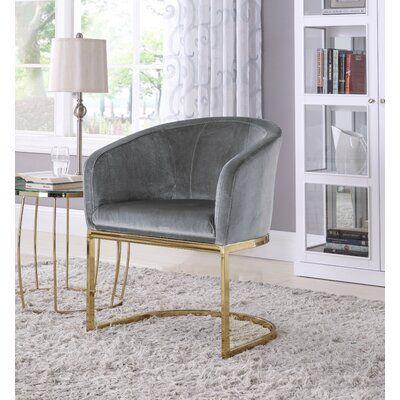 Mercer41 Landgraf Barrel Chair in 2020 | Club chairs, Accent .