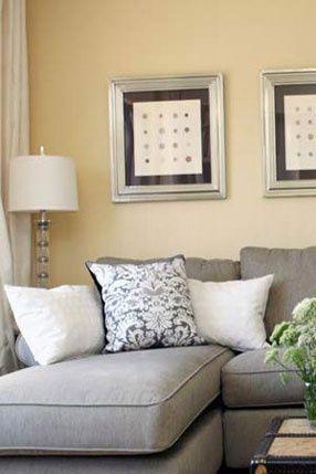 Super Painting Walls Gray Sofas Ideas en 2020   Salones grises .