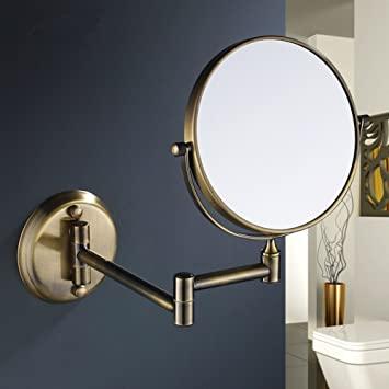 Große Badezimmerspiegel und Teleskop Spiegel/Schminkspiegel .