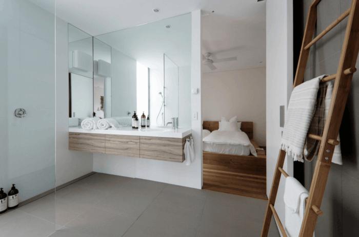 50 Badspiegel Ideen für eine interessante Badgestaltu