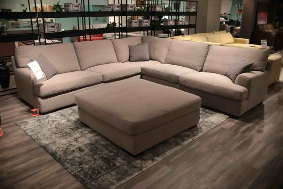 Trendige bequeme Schnittsofas Extremes bequemes großes Gewebe-Sofa .