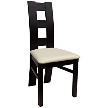 Mirjan24 Stuhl K42, Essstuhl aus Buchenholz, Esszimmerstuhl Große .