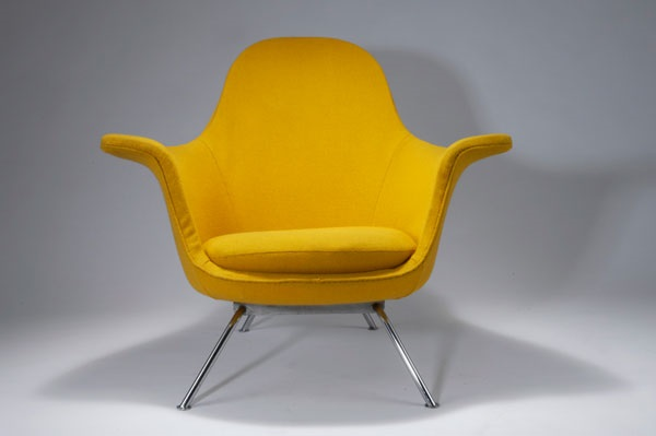 Großer Sessel 101 aus der sitwell-Kollektion by Hans Bellmann on .