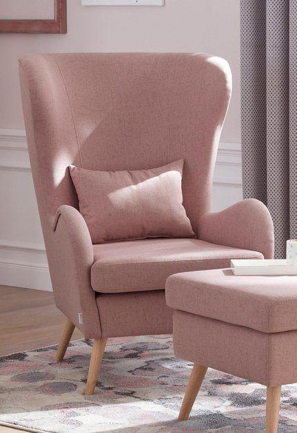 Sessel »Salla«, wahlweise mit oder ohne Hocker; großer Sessel .