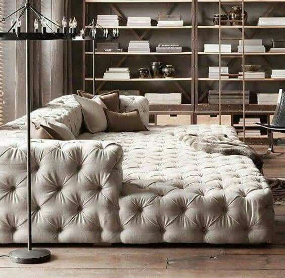the bigger the couch the better... | Luxury sofa, Living room .