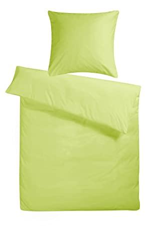 Carpe Sonno kuschelige Biber Bettwäsche 135 x 200 cm einfarbig .
