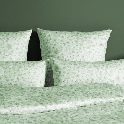 Grüne Bettbezüge
