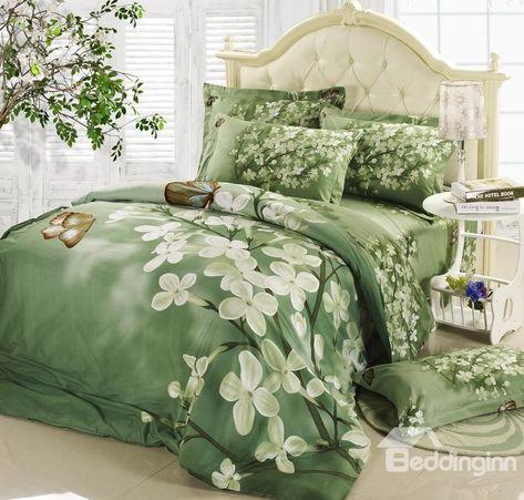 Grüne Bettwäsche-Sets #bettwasche #grune | Grüne bettwäsche, Coole .