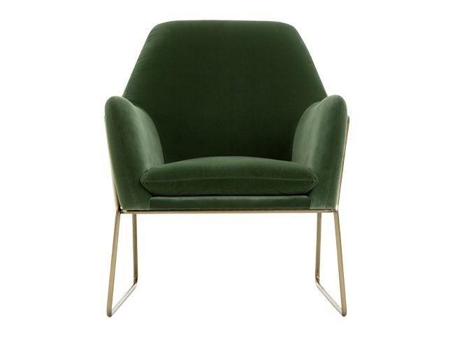 MADE Sessel, Grün   Neue Wohnung   Samt sessel, Sessel und .