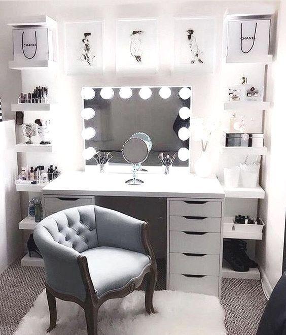 Haus Dekoration Archives | Homedweb : 13 schöne Make-up-Raum-Ideen .
