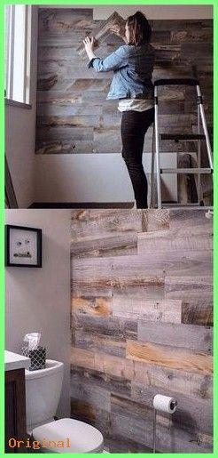 Haus Dekoration - 30 beste DIY Shiplap Wand- und Palettenwand .