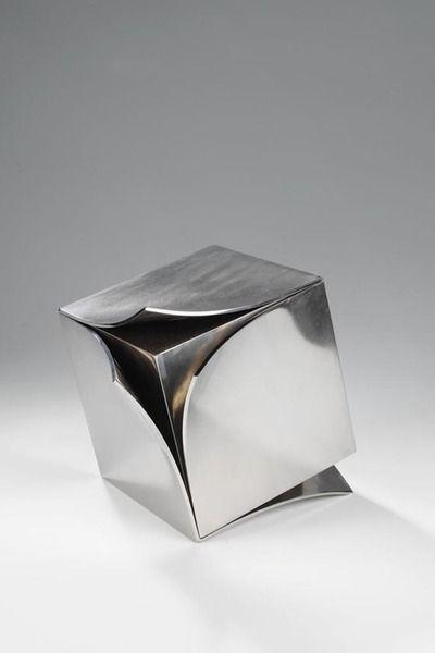 Erich Hauser 4/78, 1978. | Kunst aus metall, Abstrakte skulptur .
