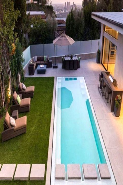 30+ Creative Small Swimming Pool For Your Small Backyard | Kleine .
